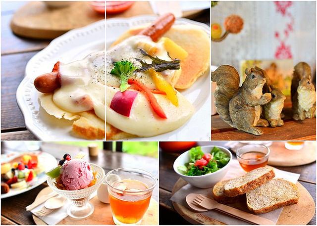 【美食】北海道自由行。美瑛《あるうのぽいん CAFÉ》可愛木屋餐廳