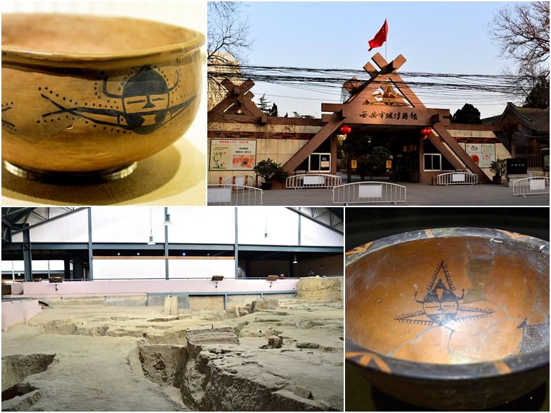 西安旅遊|必去景點《半坡博物館》新石器仰韶文化聚落遺址