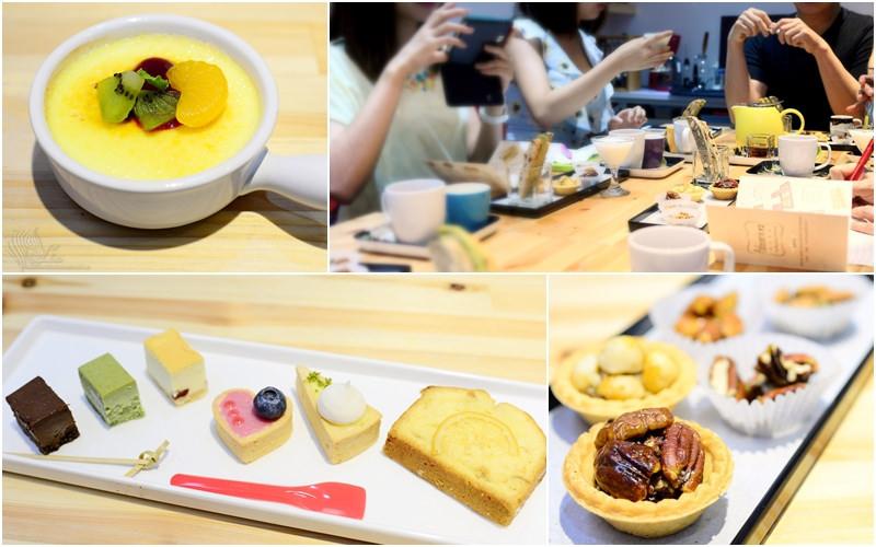 【美食】台北。宅配《Patisserie F2 法式甜點》法國藍帶烘焙 健康 x 天然 甜品糕點體驗會