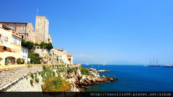 【旅遊】法國自由行。南法《安堤貝 Antibes》蔚藍海岸之心