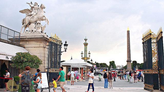 【旅遊】法國自由行。巴黎《協和廣場 Place de la Concorde》法國史血腥斷頭台擺放之地