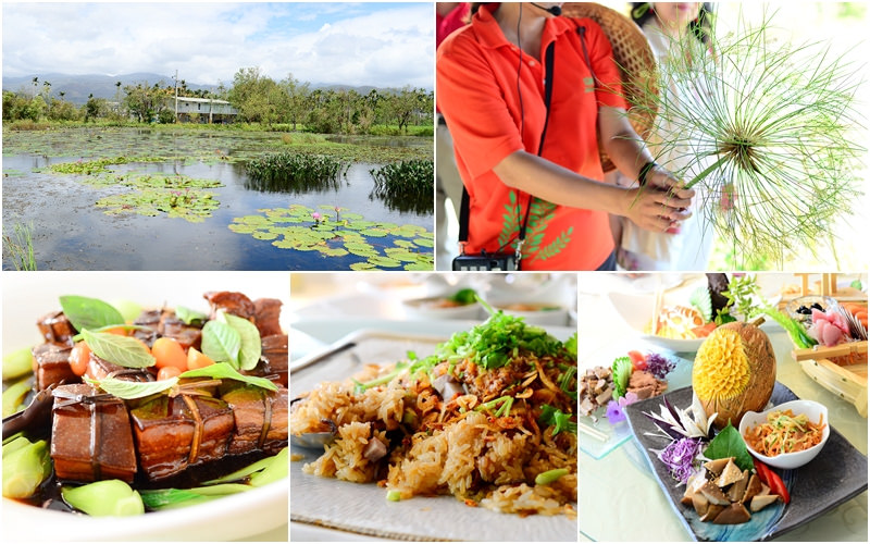 宜蘭美食旅遊景點   員山《勝洋水草休閒農場》水生植物主題 x 特色水草創意料理餐廳