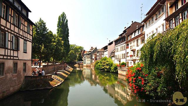 【旅遊】法國自由行。《史特拉斯堡 Strasbourg》德法交匯的浪漫風情
