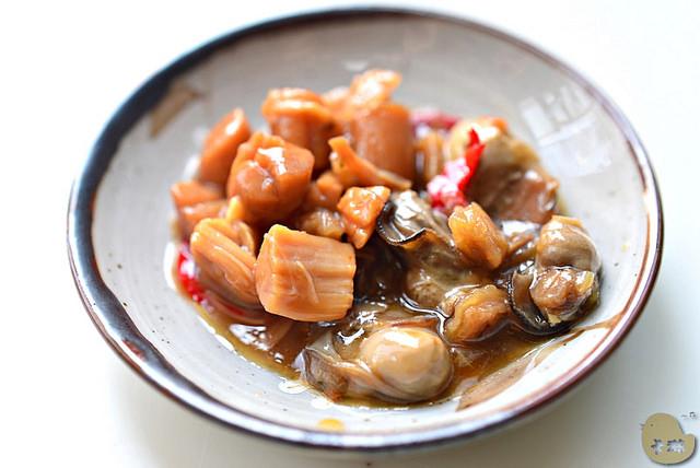 【美食】宅配。澎湖伴手禮《郭家賜福牡蠣》牡蠣醬 & 干貝醬