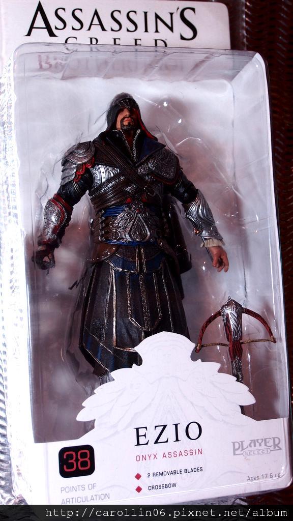 【開箱】NECA 刺客教條:兄弟會 Ezio Onyx Assassin