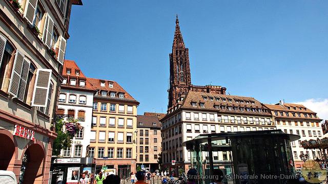 【旅遊】法國自由行。上帝之樹《斯特拉斯堡主教座堂 Cathédrale Notre-Dame de Strasbourg》哥德式建築代表之一
