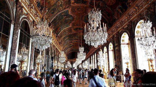【旅遊】法國自由行。巴黎必訪!《凡爾賽宮  Château de Versailles》主體建築篇