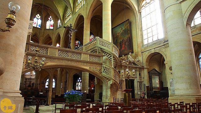 【遊記】《聖斯德望堂 Église Saint-Étienne-du-Mont》華人旅遊遺珠