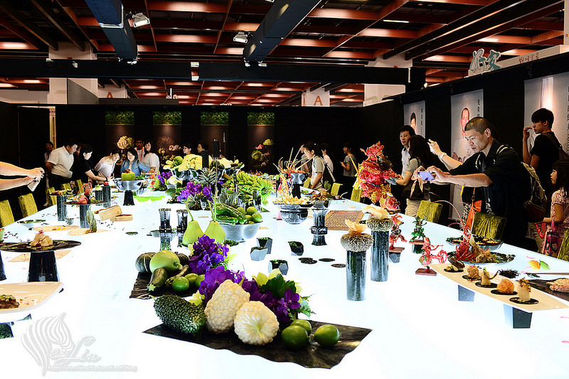 【逛展】色香味美《2015 台灣美食展》「玉食台灣」台灣花蓮墨玉食器 x 名廚佳餚