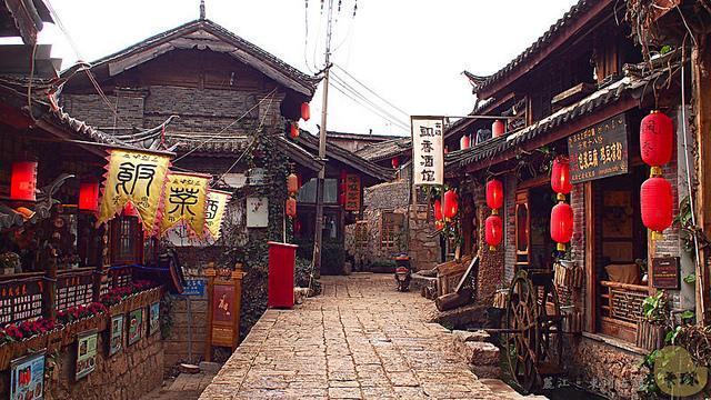 【旅遊】雲南自由行。麗江貿易重鎮《束河古鎮》束河八景今何在