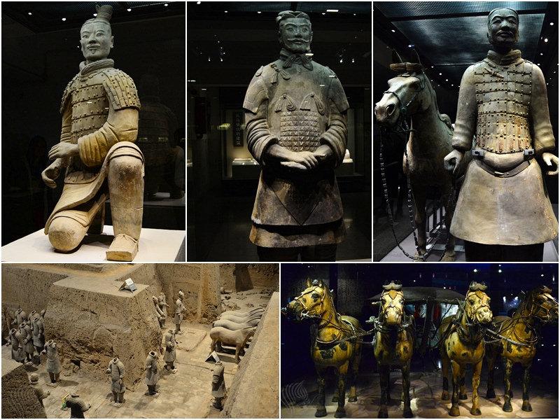 西安旅遊|必去景點《秦始皇兵馬俑博物館 二 三號坑》世界文化遺產帝王陵寢