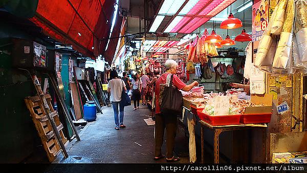 【旅遊】香港自由行。走馬看花樂當傳統市場控