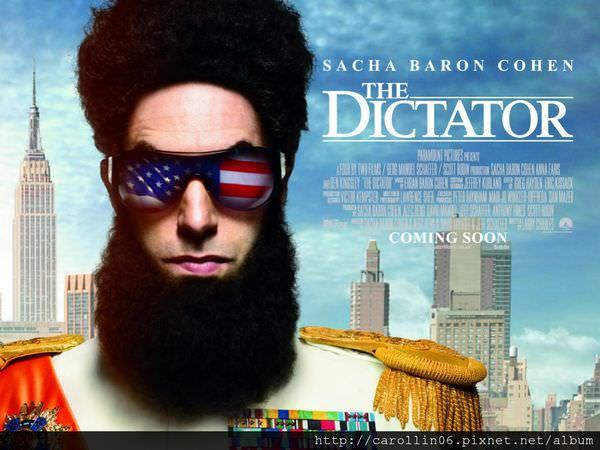 【影記】《大獨裁者落難記 The Dictator》放鬆腦袋輕鬆笑一笑吧~