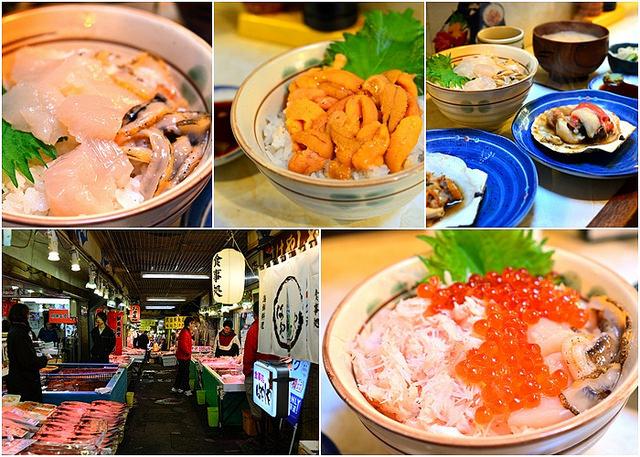 【美食】北海道自由行。小樽 朝食《はやしや食堂》三角市場海鮮丼飯老店舖