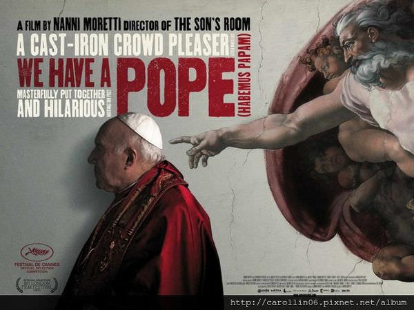 【影記】不把教宗當人看?和《落跑教宗》一起找回自己