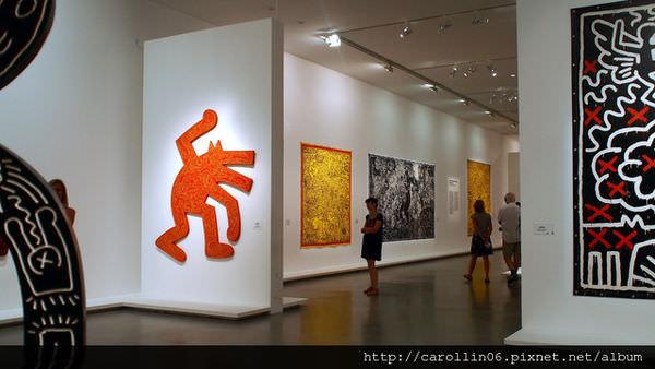 【旅遊】法國自由行。巴黎《巴黎現代藝術博物館:Musée d'Art Moderne》常態展+美國社運、街頭畫家Keith Haring特展