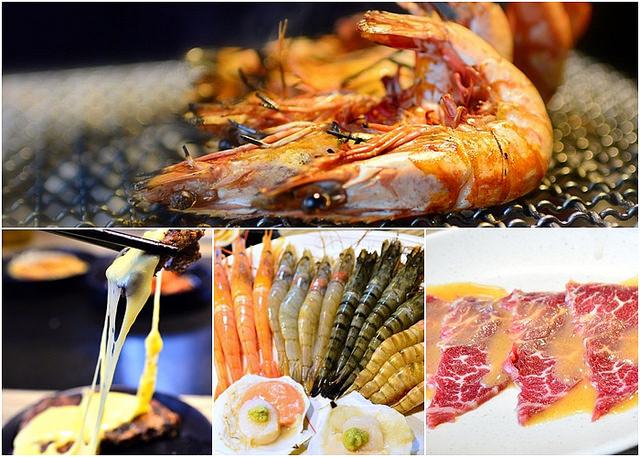 【美食】台北。西門町《我!就厲害》炭烤燒肉海鮮吃到飽 (體驗)
