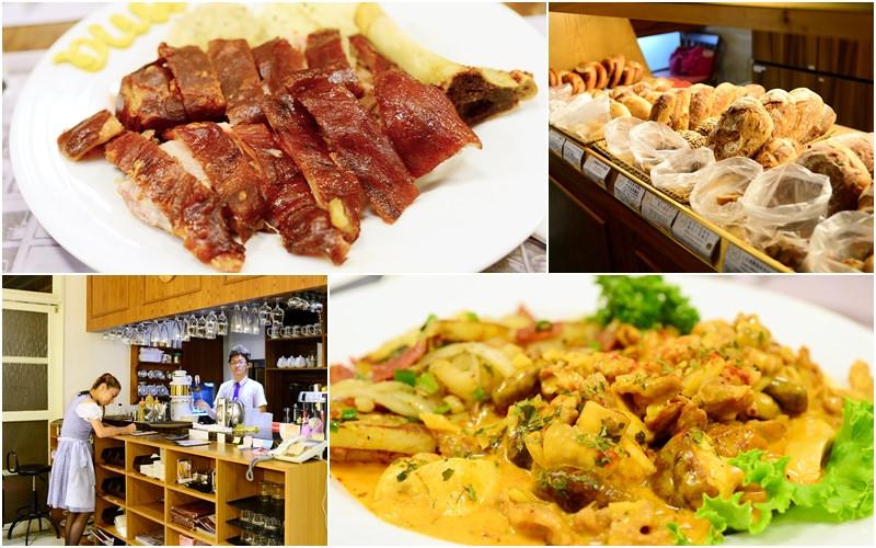 【美食】台北。大安區《Oma 歐嬤烏蘇拉》東門站永康街商圈 經典德式料理 x 德國麵包烘焙