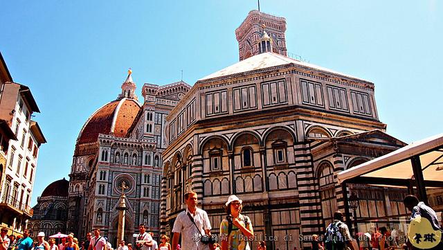 【旅遊】義大利自由行。佛羅倫斯《聖母百花大教堂 Santa Maria del Fiore》