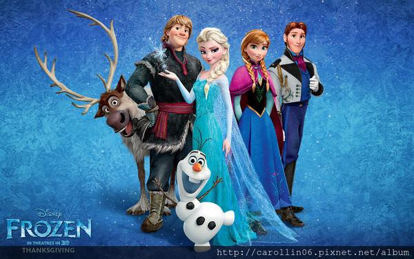 【影記】《冰雪奇緣 FROZEN》迪士尼年度公主動畫