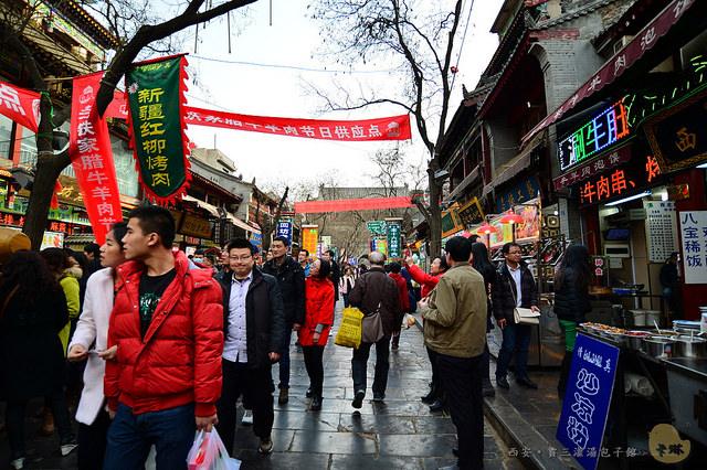 【美食】陝西自由行。西安《賈三灌湯包子館》回民街特色小吃名店