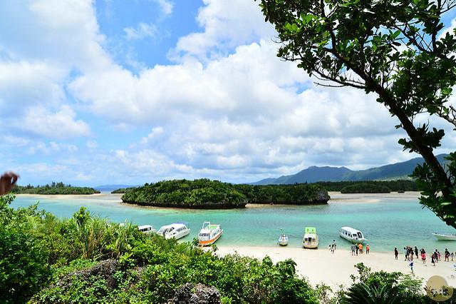 【旅遊】石垣島自由行。《川平湾 かびらわん》沖繩海灣絕美風景