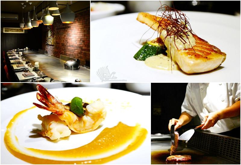 【美食】台北。松山區中山國中站《京炙鐵板燒》新鮮精緻海陸套餐