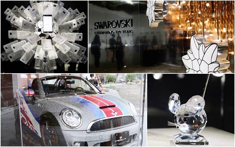 【展覽+開箱】台北。《施華洛世奇120年周年特展》最閃亮的華麗夢幻逸品展 暨《apbs手機防塵塞》