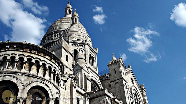 【旅遊】法國自由行。巴黎蒙馬特《聖心堂 La Basilique du Sacré-Coeur》街頭畫家聚集區